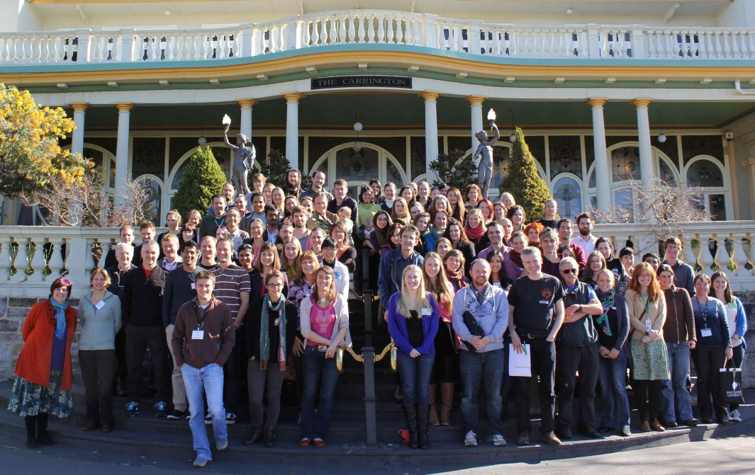 Delegates at ASSAB 2014 conference, Katoomba